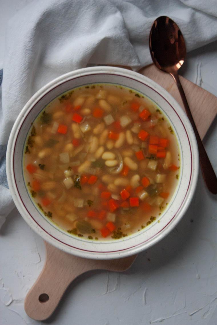 Ekspresowa zupa z mrożonek
