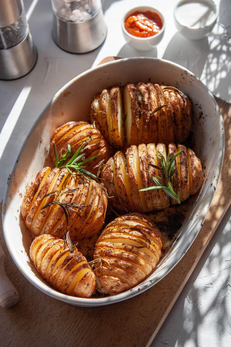 Ziemniaki Hasellback