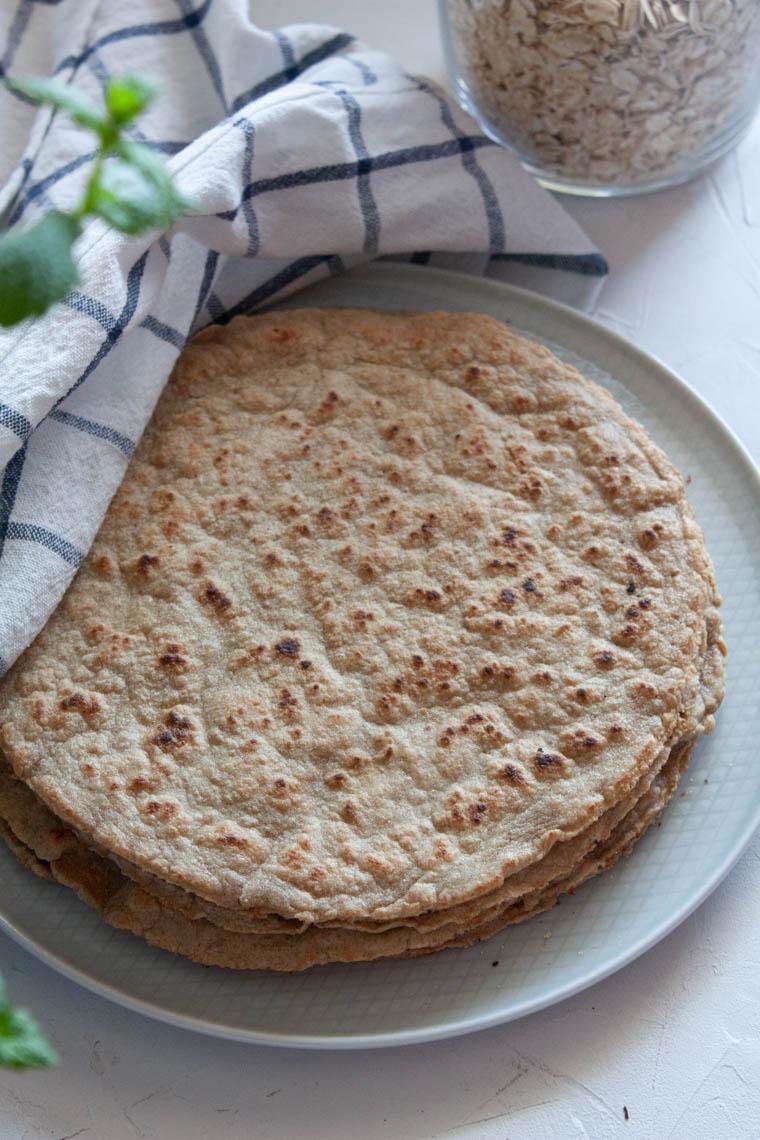 Tortille owsiane bezglutenowe