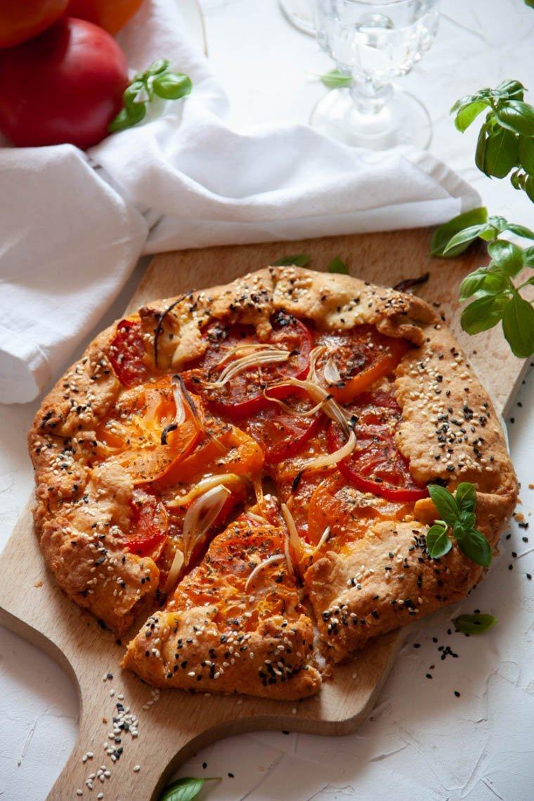 galette z pomidorami