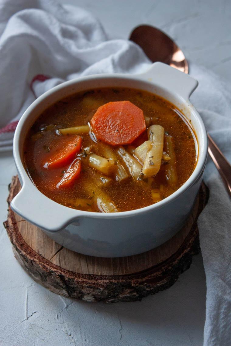 Zupa z fasolka szparagowa